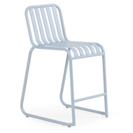 Beach Club Counter Stool Smoke Blue
