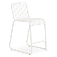 Beach Club Counter Stool Textured White