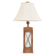 Palm Tree & Cross Table Lamp