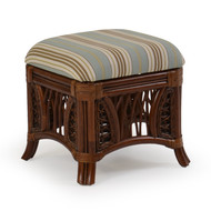 Island Way Rattan Square Stool