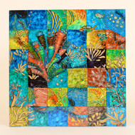 Kaleidoscope of Sea Wall Hanging , Fish