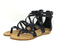 Blowfish Bungalow vegan mini-wedge gladiator sandal