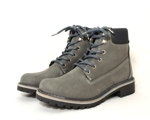 Wills Dock Boot vegan padded lace-up boot