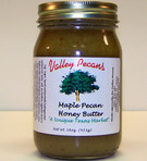 Maple Pecan Honey Butter 16 oz.