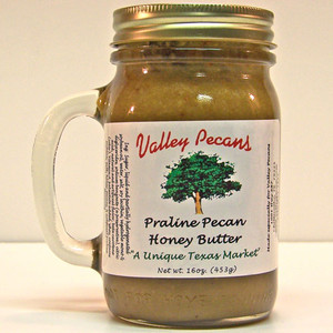 Praline Pecan Honey Butter 16 oz.