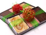 Valentine Fudge Tray