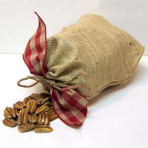 2 lb. Burlap Bag Shelled Halves