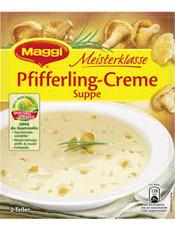 Maggi MK. Pfifferling Cremesuppe
