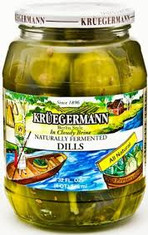 Kruegermann Naturally Fermented Dills - 32floz