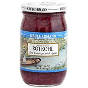 Kruegermann Berlin Style Red Cabbage with Apple Farm Fresh