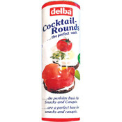 Delba Cocktail Rounds - Real German Pumpernickel Slices 8.8oz