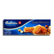 Bahlsen Nuss Dessert Hazelnut Biscuits Filled with Delicious Cream 4.4oz