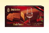 Schlunder Black Forest Cherry Liqueur Cake 14oz