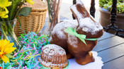 Easter Bunny and Lamb Cakes
