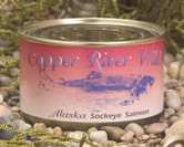Each case includes 24 - 7oz Kippered Smoked Sockeye Salmon Cans (168oz total).