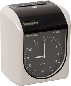 Compumatic TR440a Heavy Duty Automatic Electronic Payroll Time Recorder Clock