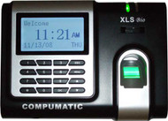 Compumatic XLS bio Biometric Fingerprint & Pin Entry Time Clock w/ Ethernet (TCPIP)