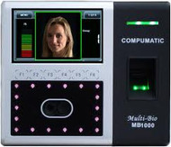 Compumatic MB1000 Face Recognition & Fingerprint Time Clock (Ethernet)
