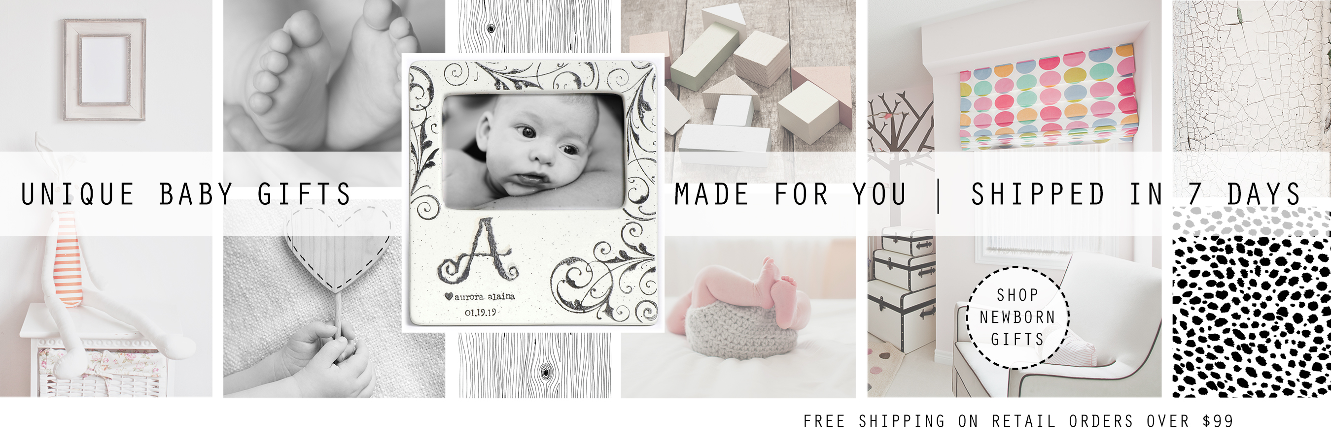Museware personalized pottery wedding family baby gifts brands negle Images