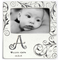 Hand painted, personalized Monogram Baby Photo Frame