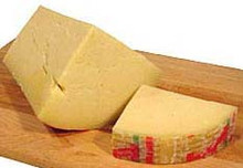Imported Auricchio Provolone is a full fat cow&#039;s milk cheese. The taste of this Italian cheese varies with age, from mild to savory and hearty. Provolone is one of the most popular table cheeses and is excellent in salads and antipasto.