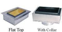 8 x 4 Register Box with Flange -Optional Collar