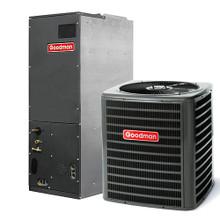goodman condenser. gsx130181 condenser + aruf18b14 air handler goodman