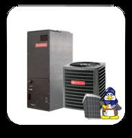 GOODMAN 5 Ton 16 Seer HEAT PUMP Dual Stage *Variable Speed* A/C -Heat Pump Communicating System (DSZC160601 + AVPTC60D14)