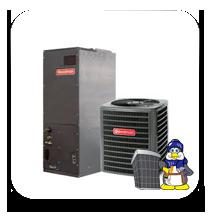 goodman 2 ton heat pump. goodman 2 ton 16 seer heat pump two stage *variable speed* complete a/c-heat system (dsz160241+avptc31c14) goodman s