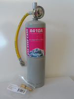 1.8 lb Can 410a refrigerant with Hose, Gauge and adapter