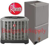 """Rheem / Ruud """"Classic"""" 3.5 Ton 15 Seer Heat Pump Split System RP1542AJ1+RH1T4821STANJA"""