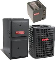 Goodman 5 ton 14 seer 96% 120K Btu Gas Furnace System(Upflow,Vertical or Horizontal))