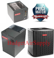 Goodman 5 Ton 16 Seer Dual Stage (DSXC160601 + MBVC2000AA + CAPF4961 UPFLOW/DOWNFLOW) *Variable Speed* Air Conditioning System