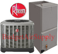 Rheem / Ruud 4 Ton 16 Seer Air Conditioning System (RA1648AJ1+RH1T4821MTANJA)