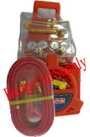 Portable Oxygen-Acetylene  Regulators Welding Kit with tote-No Tanks