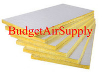 "22 Sheets R8 2"" Fiberglass Ductboard 10'x4'"