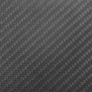 """Matte Carbon Fiber Sheet 4""""x24""""x 2.4mm (102mm x 610mm)"""