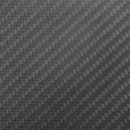 "Matte Carbon Fiber Sheet 4""x48""x 2.4mm (102mm x 1219mm)"