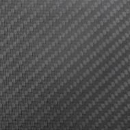 "Matte Carbon Fiber Sample 4""x4""x 2.4mm (102mm x 102mm)"