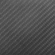"""Matte Carbon Fiber  ProPlate 4""""x4""""x 3.4mm (102mmx102mm)"""