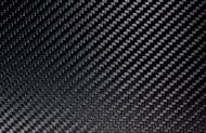 "High Gloss Carbon Fiber Veneer 12""x12""x .25mm (305mm x 305mm)"