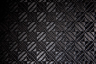 "Checker Carbon Fiber Veneer, Gloss - 12"" x 12"" – .5mm"