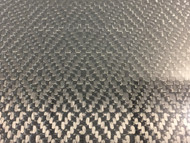 "Diamond Carbon Fiber Veneer, Gloss - 12"" x 24"" – .25mm"