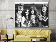 Kiss - Creem Magazine Headquaters - Birmingham, Michigan 1973