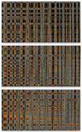 Matrix Vertical Triptych
