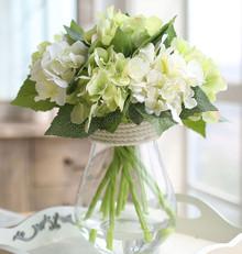 AF10082018A Hydrangea ( Flowers + Vase)