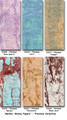 "#931650 Marble ""Skinny Papers"" Paper Pak, ""Florence"" ""Florence"" contains the following Marble ""Skinny Paper"" colors: 'Rose Quartz', 'Surf', 'Juniper', 'Garnet', 'Terracotta'  & 'Blush Java'"