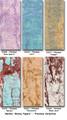 "#931650 Marble ""Skinny Papers"" Paper Pak, ""Florence"" ""Florence"" contains the following Marble ""Skinny Paper"" colors: 'Rose Quartz', 'Surf', 'Juniper', 'Garnet', 'Terracotta'  & 'Blush Java'"