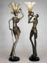 Top Hat Gal Floor Lamp
