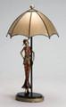 Umbrella Gal Table Lamp
